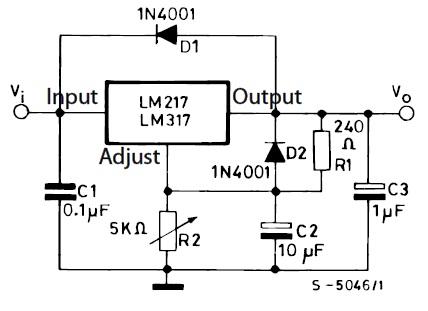 Membuat Voltage regulator menggunakan LM317 dan LM337 | RDD
