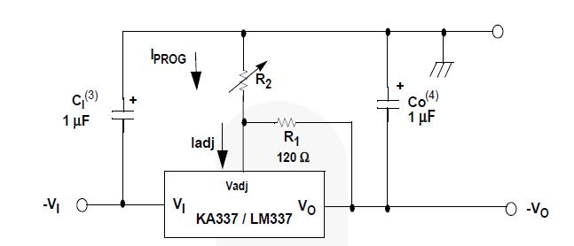 membuat voltage regulator menggunakan lm317 dan lm337